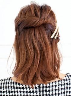 髪型 アレンジ 簡単 ねじり002